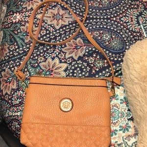 Crossbody coral purse